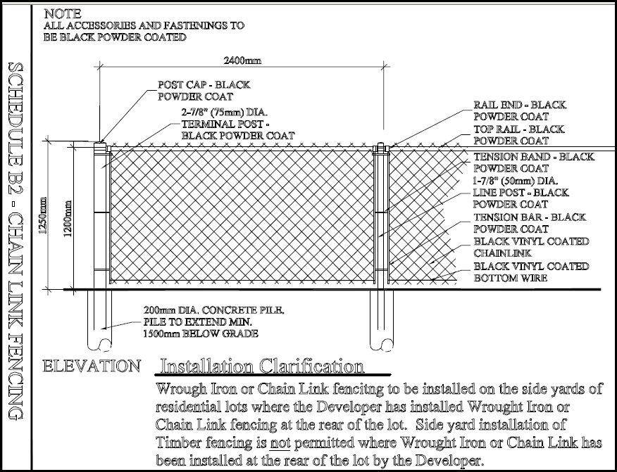 Chain Link Fence Drawing metal fence drawing from china manufacturer hebei yingkaimo for