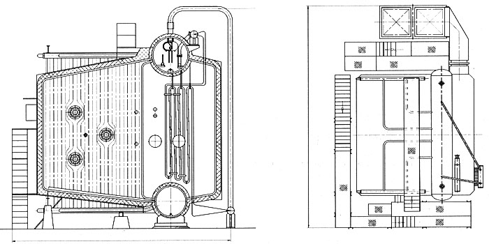 Water Tube Boiler Design ~ Water tube package boiler from china manufacturer