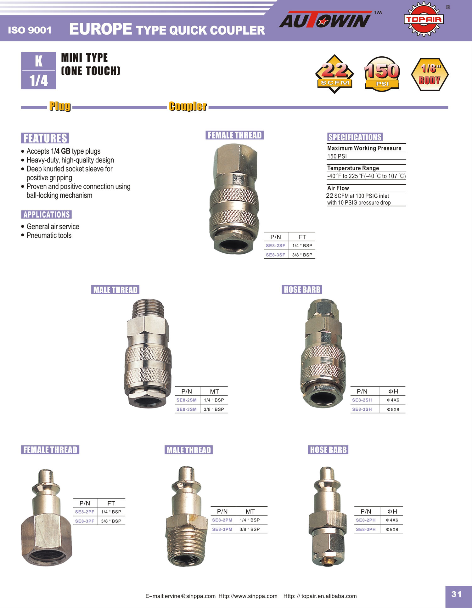 Air Tool: Air Tool Types