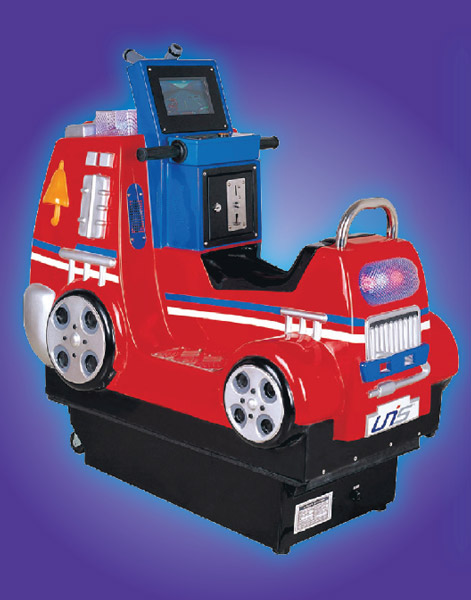 Mini Fire Truck Kiddie game manufacturer from China