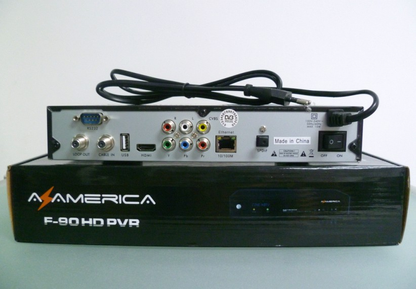 Azamerica F90 Lexuzbox F90 Hd Cable Receiver F90 Hd Pvr