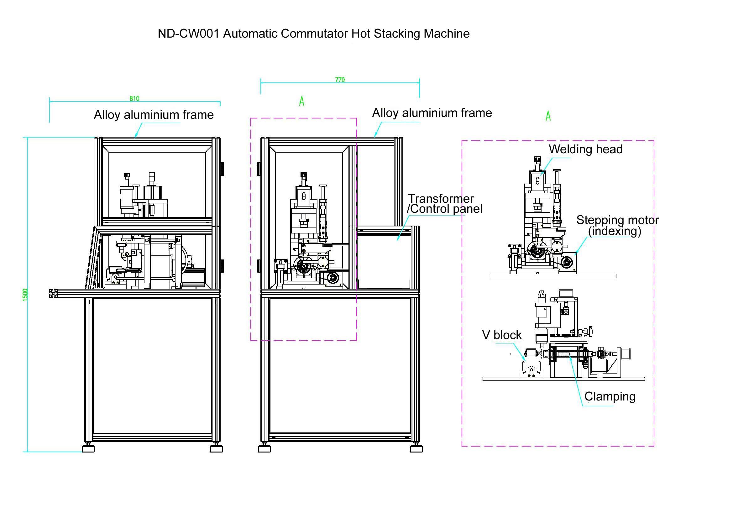 dc motor ac motor hook type riser type commutator fusing