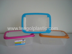 TPR seal food storage container