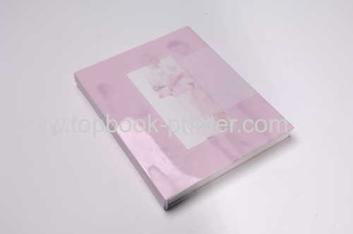 square-back hardcover book