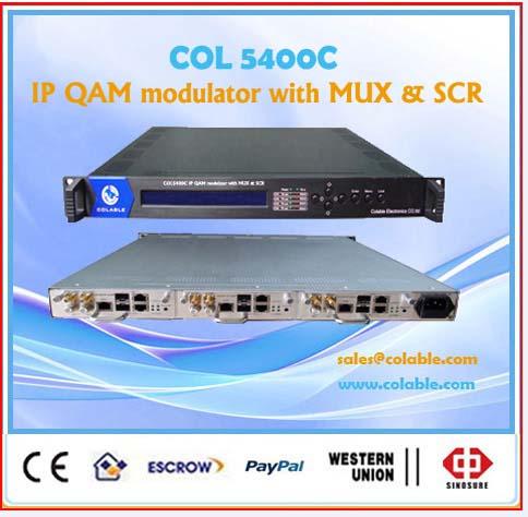 IP QAM Module