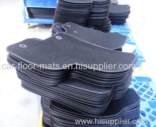 tufted car floor mats
