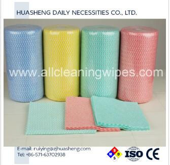 Chinese Nonwoven Wipes in Roll
