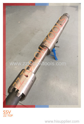 Super Safety valve DST tools