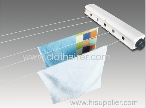 Retractable Clothesline Wall Mounted