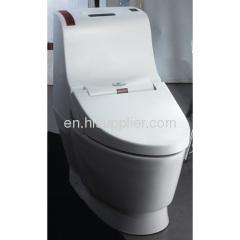 one-piece bathroom automatic toilet seat