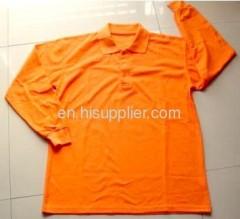 Orange color Man's Polo Shirt