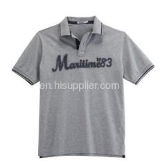 Man's turndown collar Polo Shirt