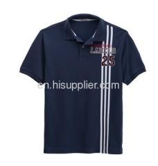 Turn down collar Man's Polo Shirt