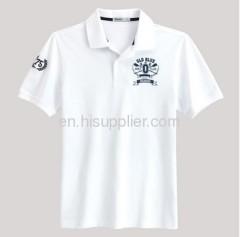 White color Man's Polo Shirt