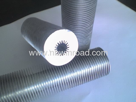 Internal tooth high fin tube from china manufacturer for Internal pipe heater