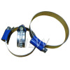 Blue Head Hose Clamp