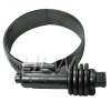 Constant torque hose clamp