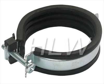 Rapid Pipe Clamp With Epdm