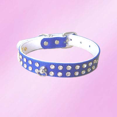 rhinestone pet collars