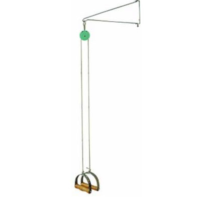 Simple-Pulley Training Device