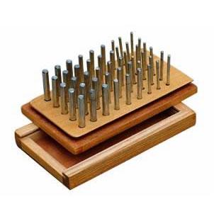 Steel Peg Inserting board