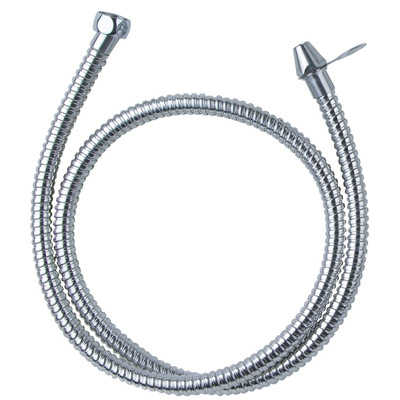 Stainless steel hose with metal spray