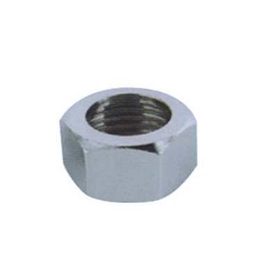 Clear edges zinc Alloy nut