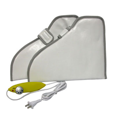 White Massage Boot With Warmer
