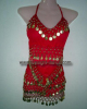 Belly Dance Costume Sets, Coin Bras, Belly Dance Hip Scarves