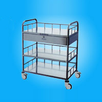 Steel Medical Trolley