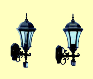 PIR Wall Lamp
