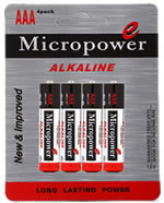 alkaline battery AAA/LR03