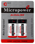 alkaline battery C/LR14