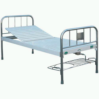 Single-rocker bed