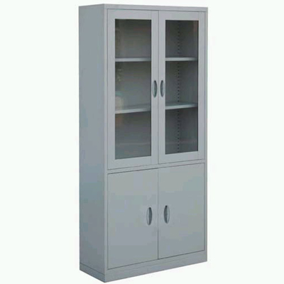 Steel instrument cabinet