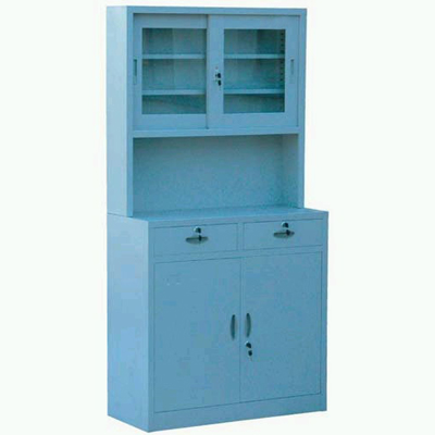 plastic-spray drug cabinet
