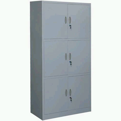 6-Door 3-section Cabinet