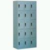 Steel Plastic-spray 15-drawer Shoe Cabinet