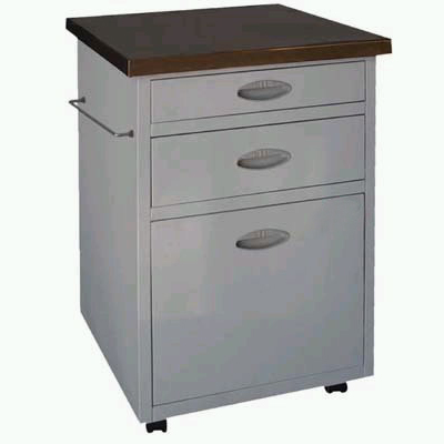 double-drawer table