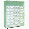 Plastic-spray Chinese Traditional Medicine Cabinet