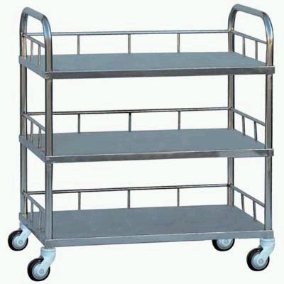 three-layer  trolley