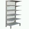 Steel Plastic-spray Single-side Drug Shelf