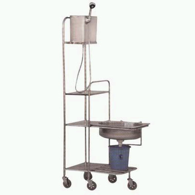 Head-Washing Trolley