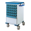 Two Sides Medicine Delivery Trolley