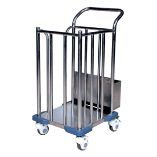 Clothing-Delivery Trolley