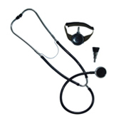 three stethoscope