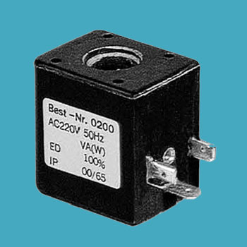 thermosetting solenoid coil