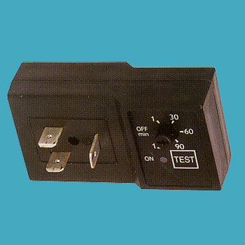 Economical timer for solenoid valve