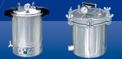 steel steam sterilizer