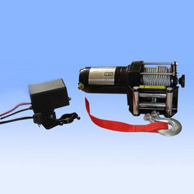 gas powered winches